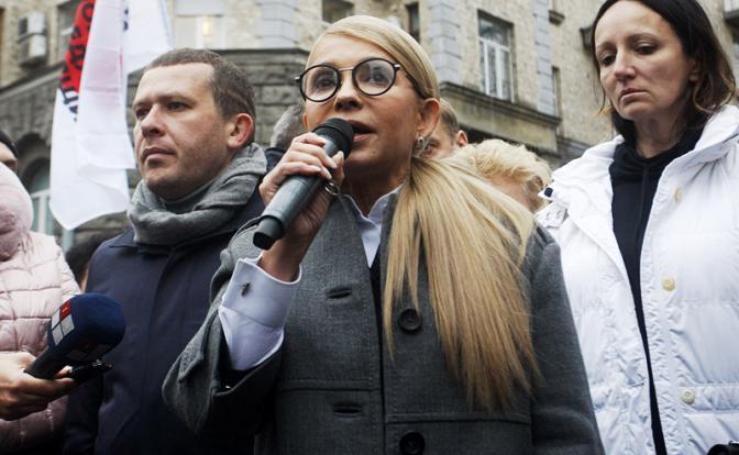 Тимошенко легко сдаст Украину ради собственной выгоды