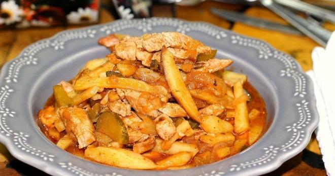 Азу из свинины - самые вкусные рецепты татарского блюда