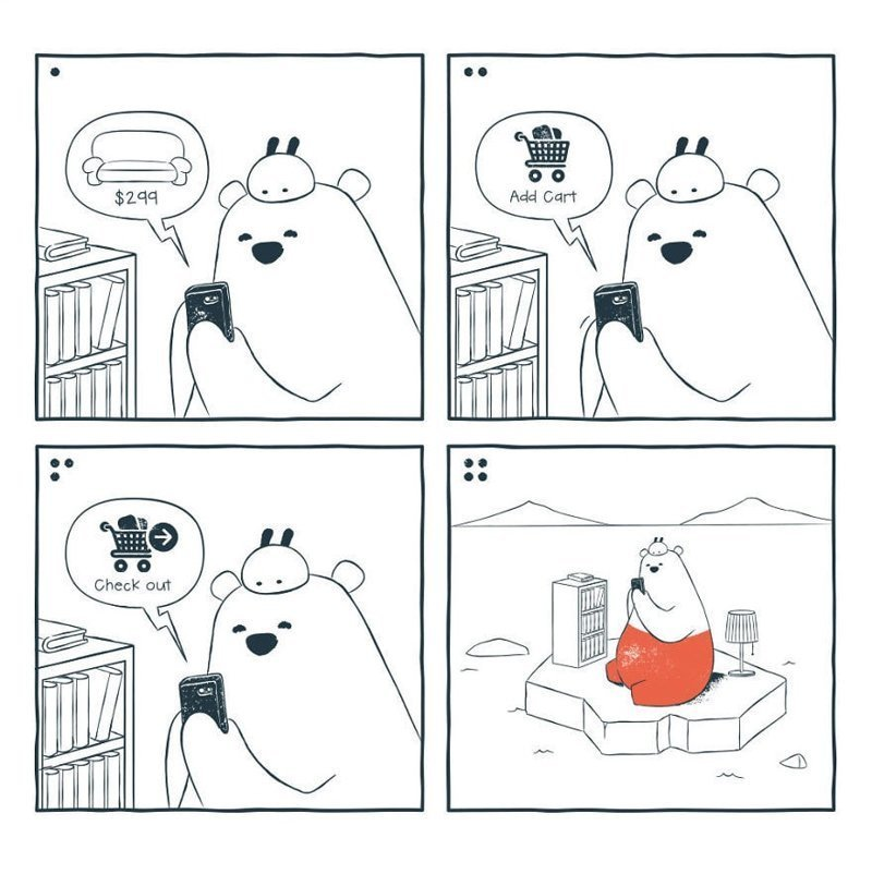 «Заказ нового дивана» забавно, комиксы, подборка, рисунки, юмор