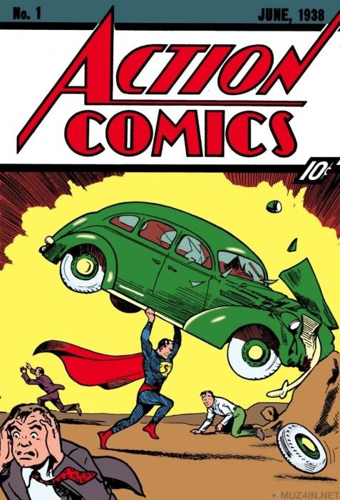 Выпуск Action Comics № 1: Купить журнал и разбогатеть.