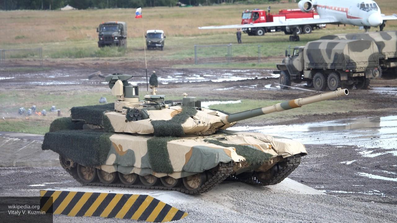 Баранец: «Танк Т-90МС разгонит целую орду западных танков»