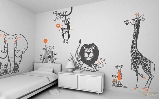Просто и креативно украшаем детские комнаты