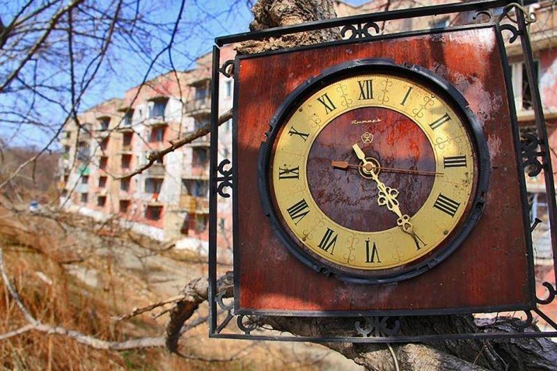 Единственный житель сибирского города-призрака городок Пристань, сибирь, факты