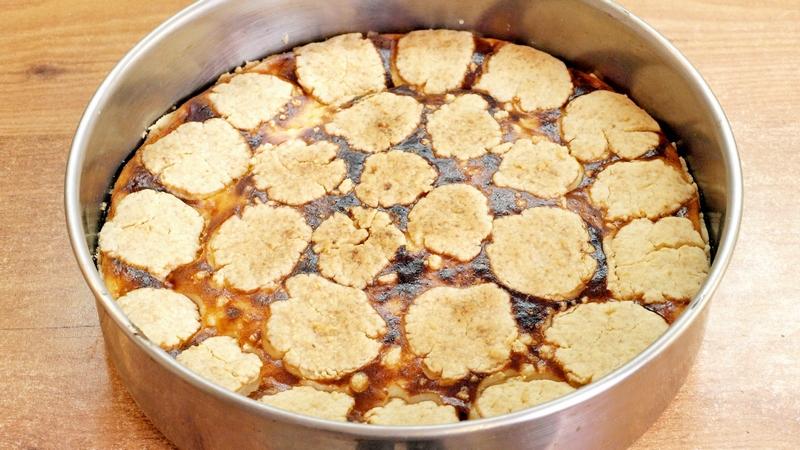 Мозаичный творожный пирог - видео рецепт