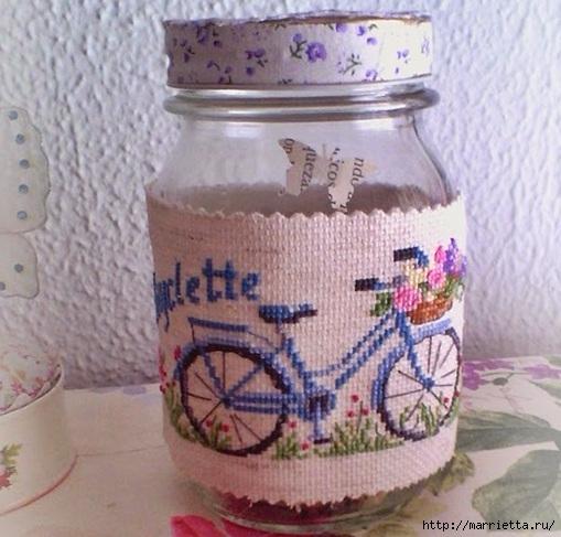 Вышиваем велосипед. Идеи со схемами (26) (509x487, 165Kb)