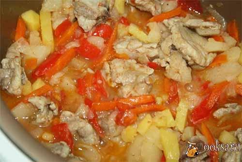 Рагу из свинины с овощами рецепты