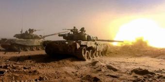 В Сирии боевики угнали у военных США два танка. Все бегут в панике