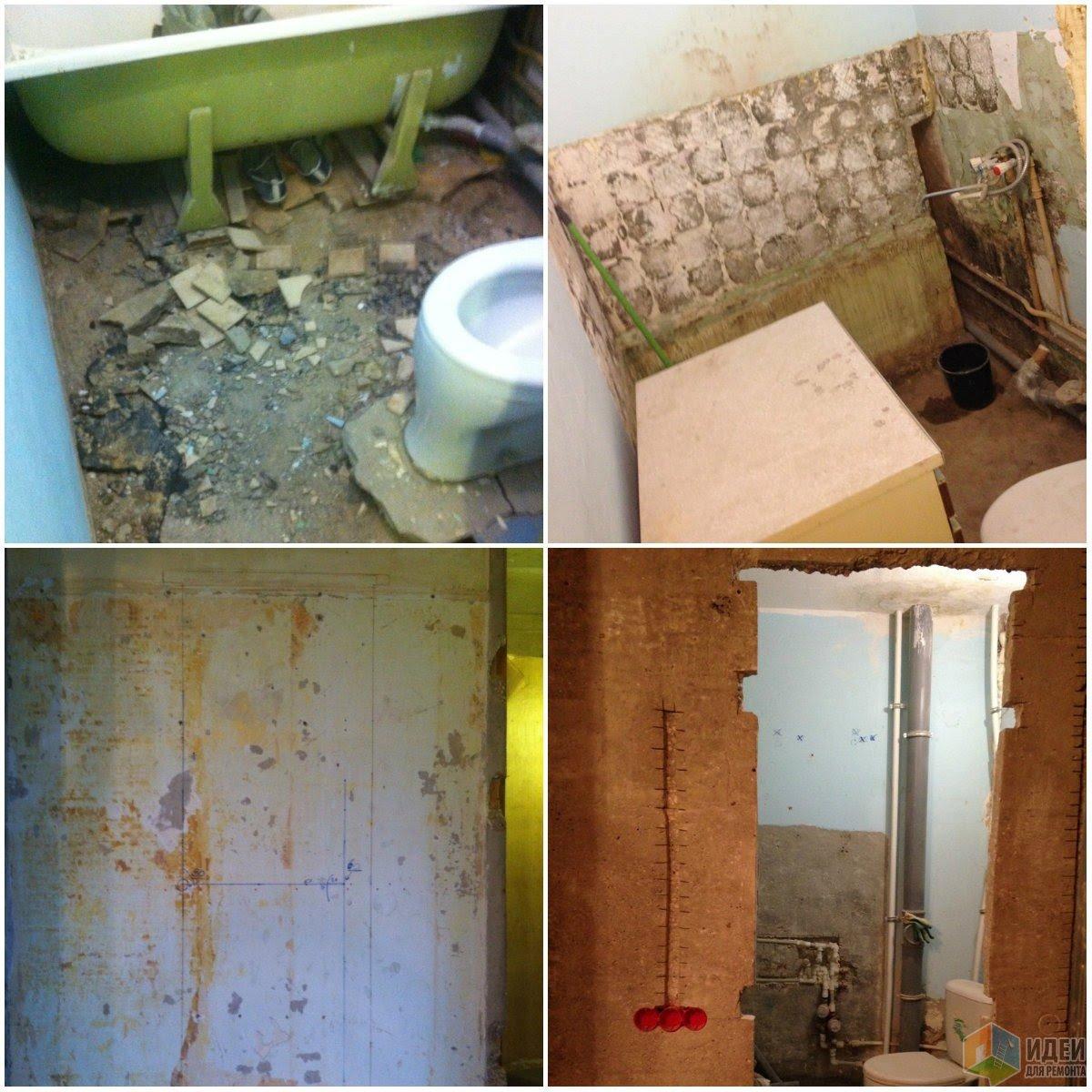 Ванная комната - островок цвета в белом-белом доме