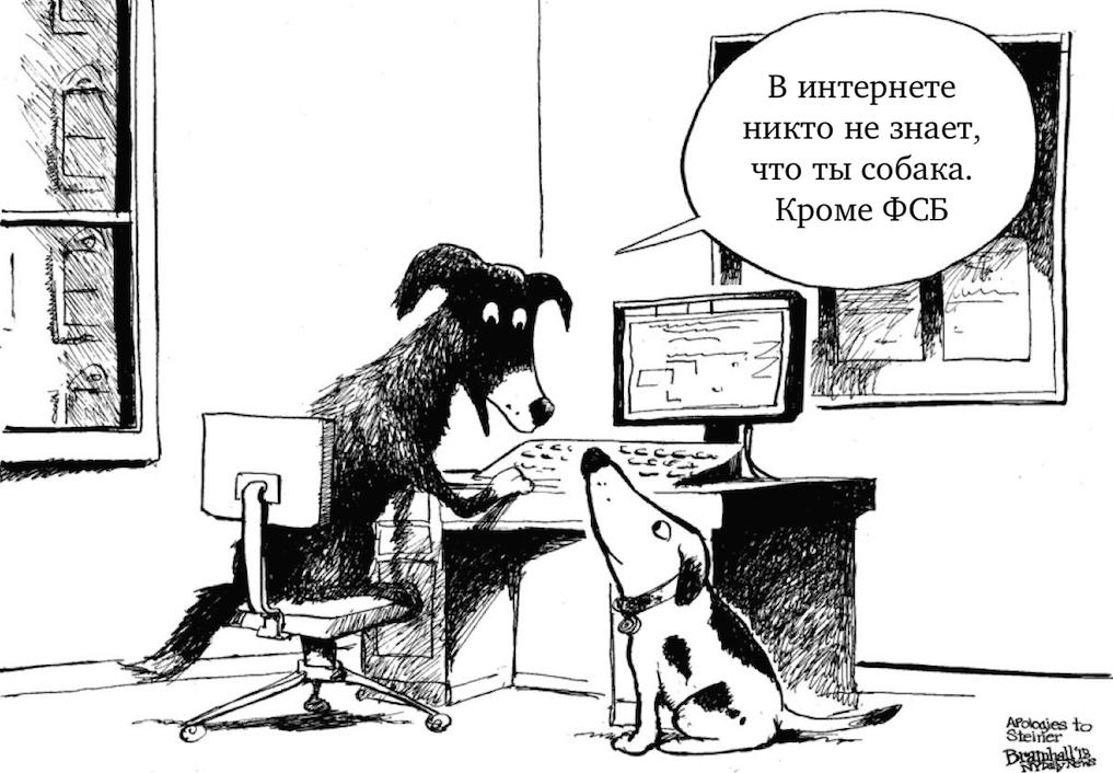 СМИ: ФСБ расшифрует весь интернет-трафик россиян