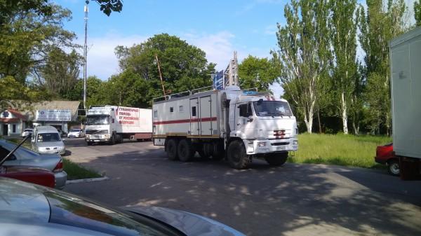 Очередной, 65-й по счету гуманитарный конвой с детским питанием и медицинской техникой прибыл в ДНР