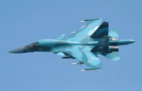 Сверхскоростной Су-30СМ в Сирии