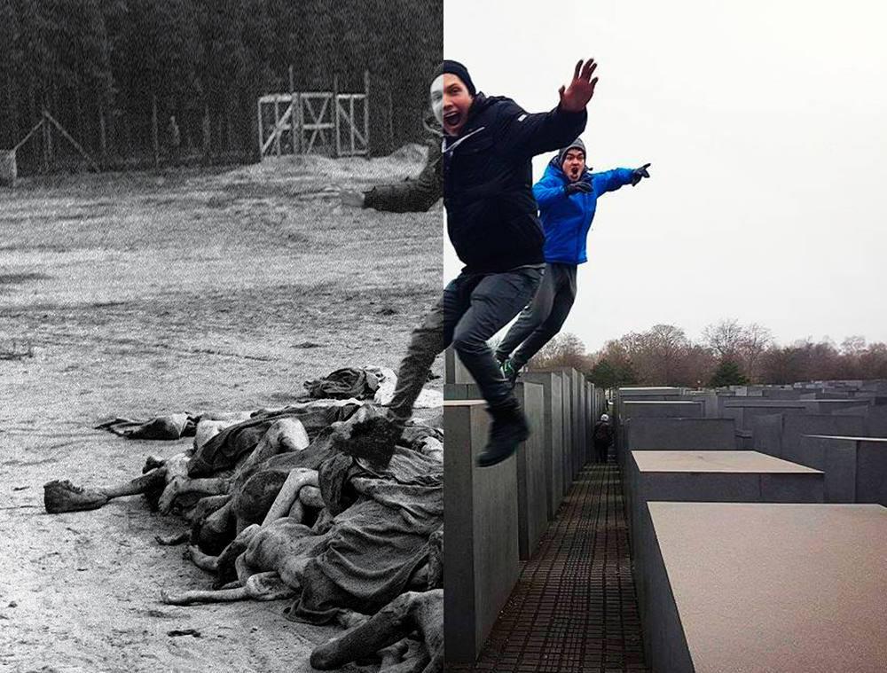 Израильтянин создал проект, посвященный «пляскам на костях» в центре Берлина