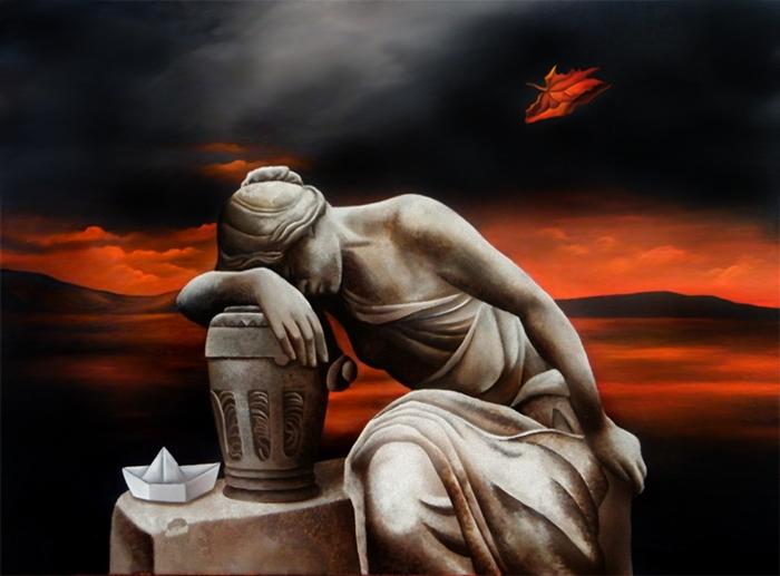 Усталость. Автор: Brita Seifert.