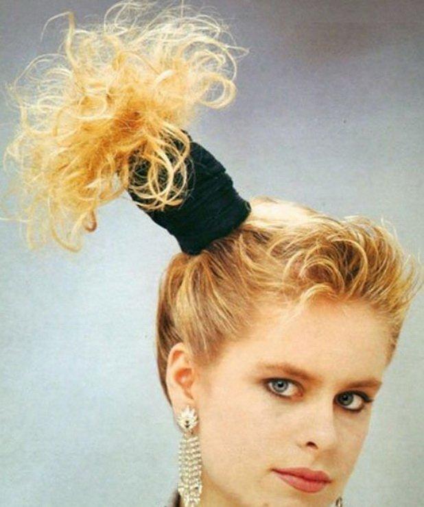 80-е годы волосы, женщины, кудряшки, мода, начес, прически, стрижки