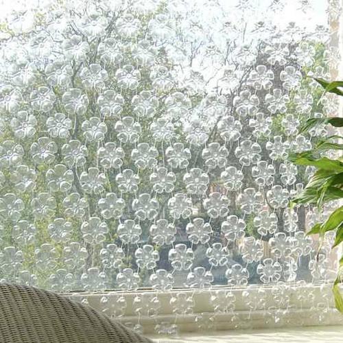 поделки из пластиковых бутылок для дачи
