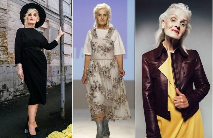 Возрастная модель: красота в 69 лет