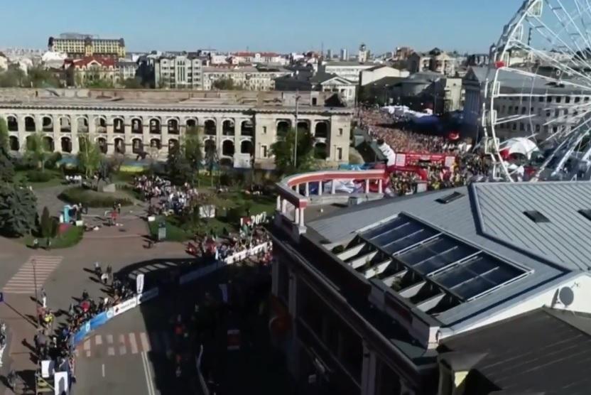 Красочное видео о Киевском п…