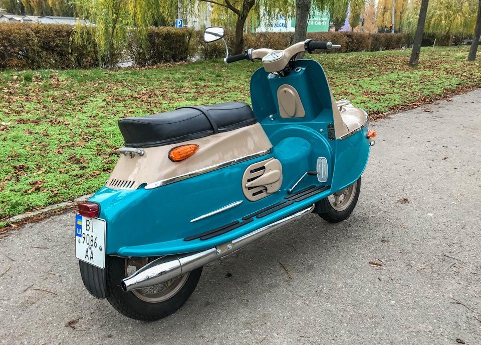 Cezeta 502: самый желанный мотороллер в СССР