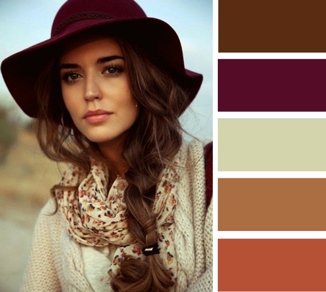 9 лучших цветовых сочетаний для осенних шляп и аксессуаров
