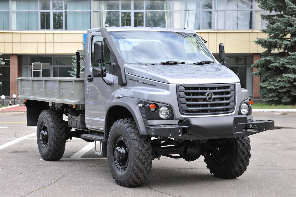 ГАЗ готовит к выходу грузовой внедорожник «Садко-Next»