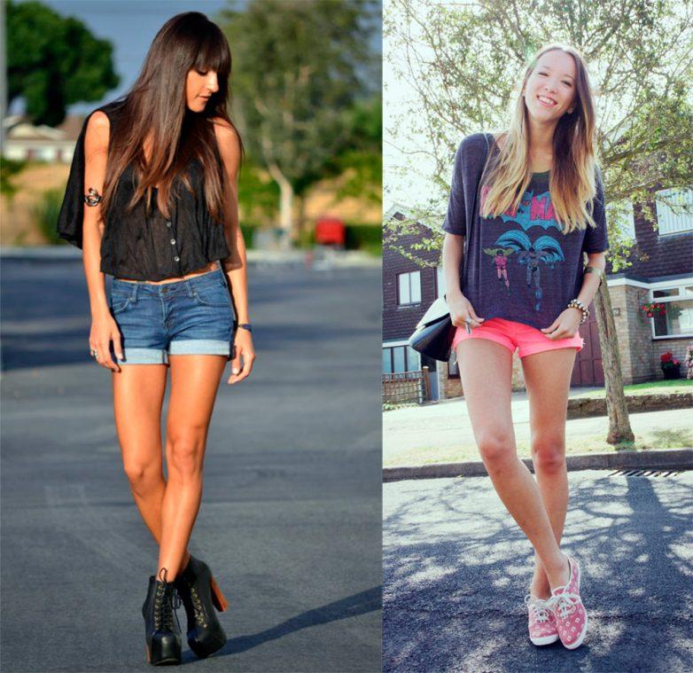 Кому не стоит носить короткие шорты