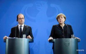 Меркель и Олланд заявили, что у них большие проблемы с Трампом