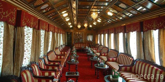 Комфортное путешествие на роскошных поездах