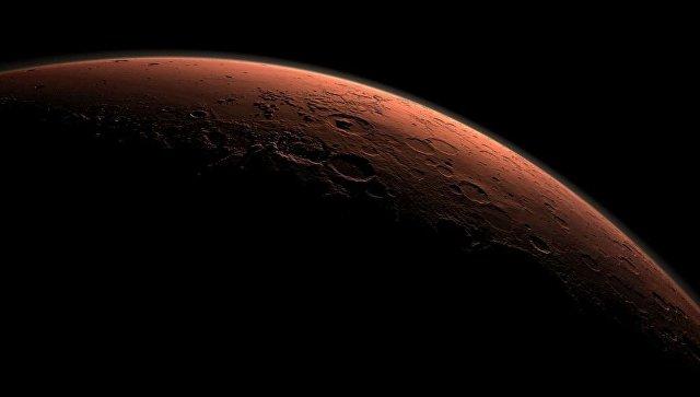 Специалисты НАСА показали самый холодный участок на Красной планете