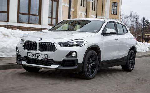BMW X2: первый тест-драйв