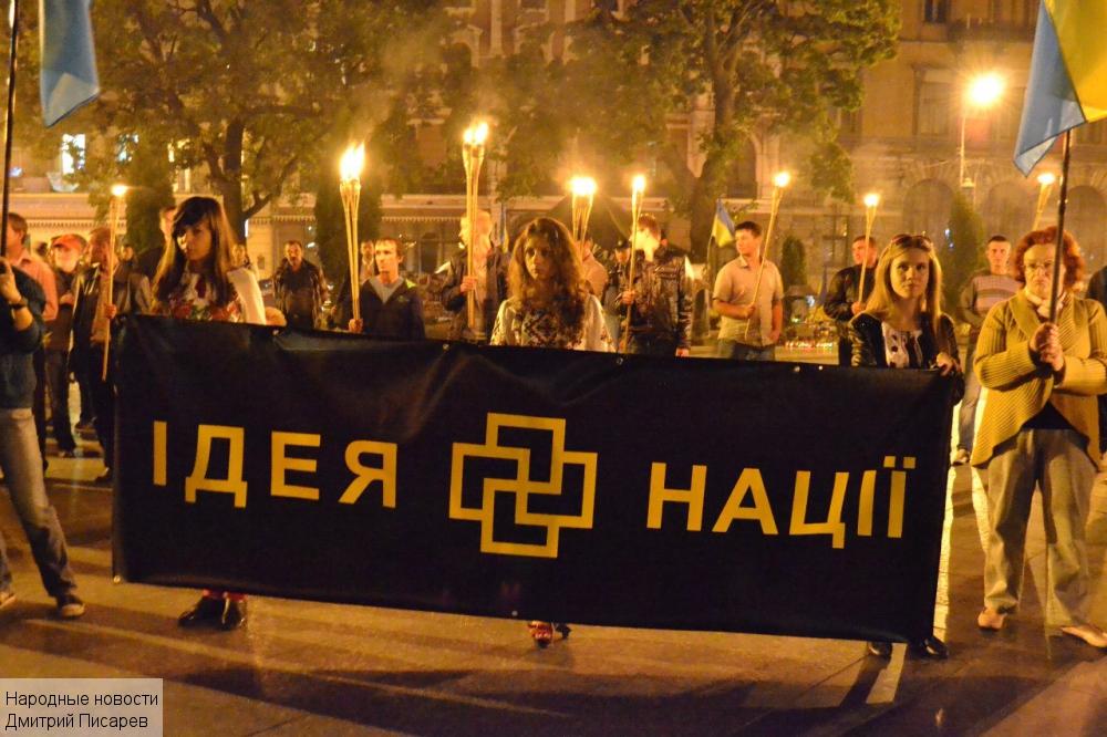 Это нацизм, детка! Украинский нацизм.