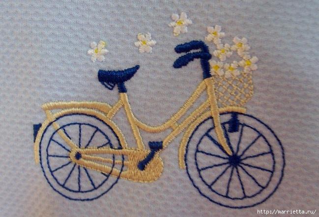 Вышиваем велосипед. Идеи со схемами (3) (649x442, 224Kb)