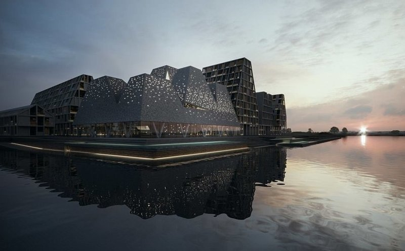Новый фантастический бассейн в Копенгагене: такого вы еще не видели! аквацентр, архитектура, бассейн, завораживающе, копенгаген, невероятно, ненаучная фантастика, фантастика