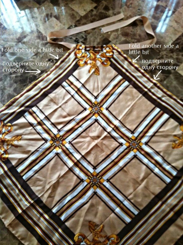 Шьем летние платья и сарафаны из платков - 8 вариантов