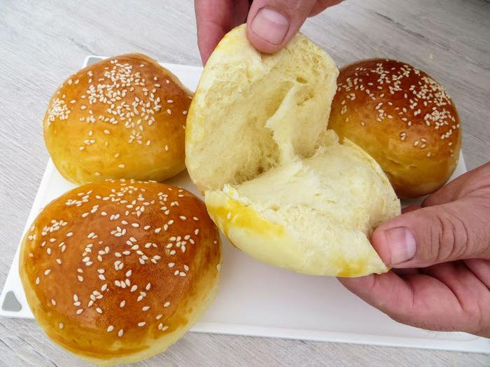 Простой рецепт вкуснейших булочек для бутербродов и гамбургеров Еда, Булочки, Рецепт, Видео рецепт, Другая кухня, Тесто, Вкусно, Рецепт булочек, Видео, Длиннопост
