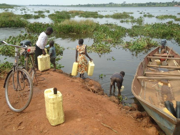 Вода. 12 фактов об Уганде - жемчужине Африки. Фото с сайта NewPix.ru