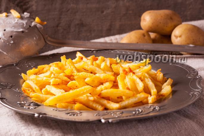 Бельгийская картошка фри