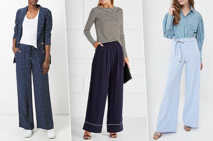 Из широких штанин: 7 пар брюк-палаццо, в которых ты будешь выглядеть женственно