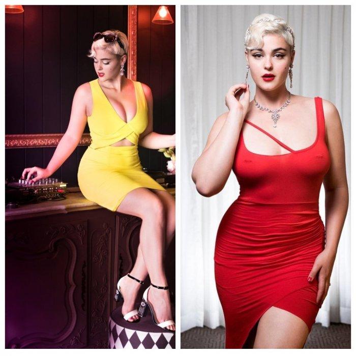 Блондинка с королевскими формами разрушает анорексичные модельные стереотипы