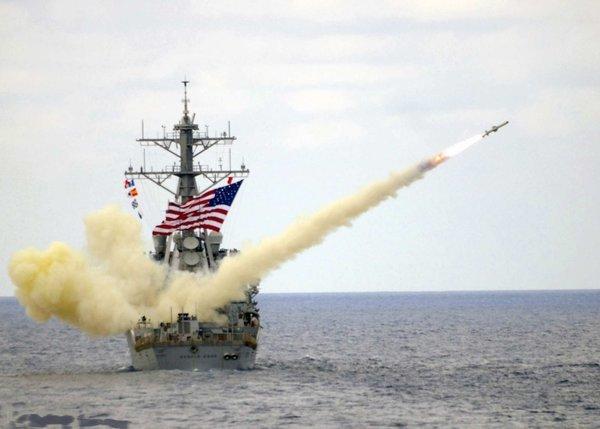 """Американский эсминец """"Дональд Кук"""""""