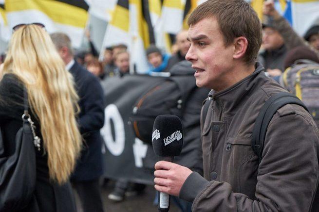 Что это было? Журналист российского «Дождя» насмешил антиукраинским поступком
