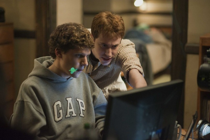 Социальная сеть (2010) кино, компьютеры, технологии, фильмы