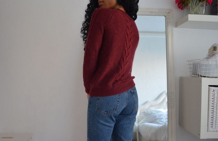 переделка жаркого свитера