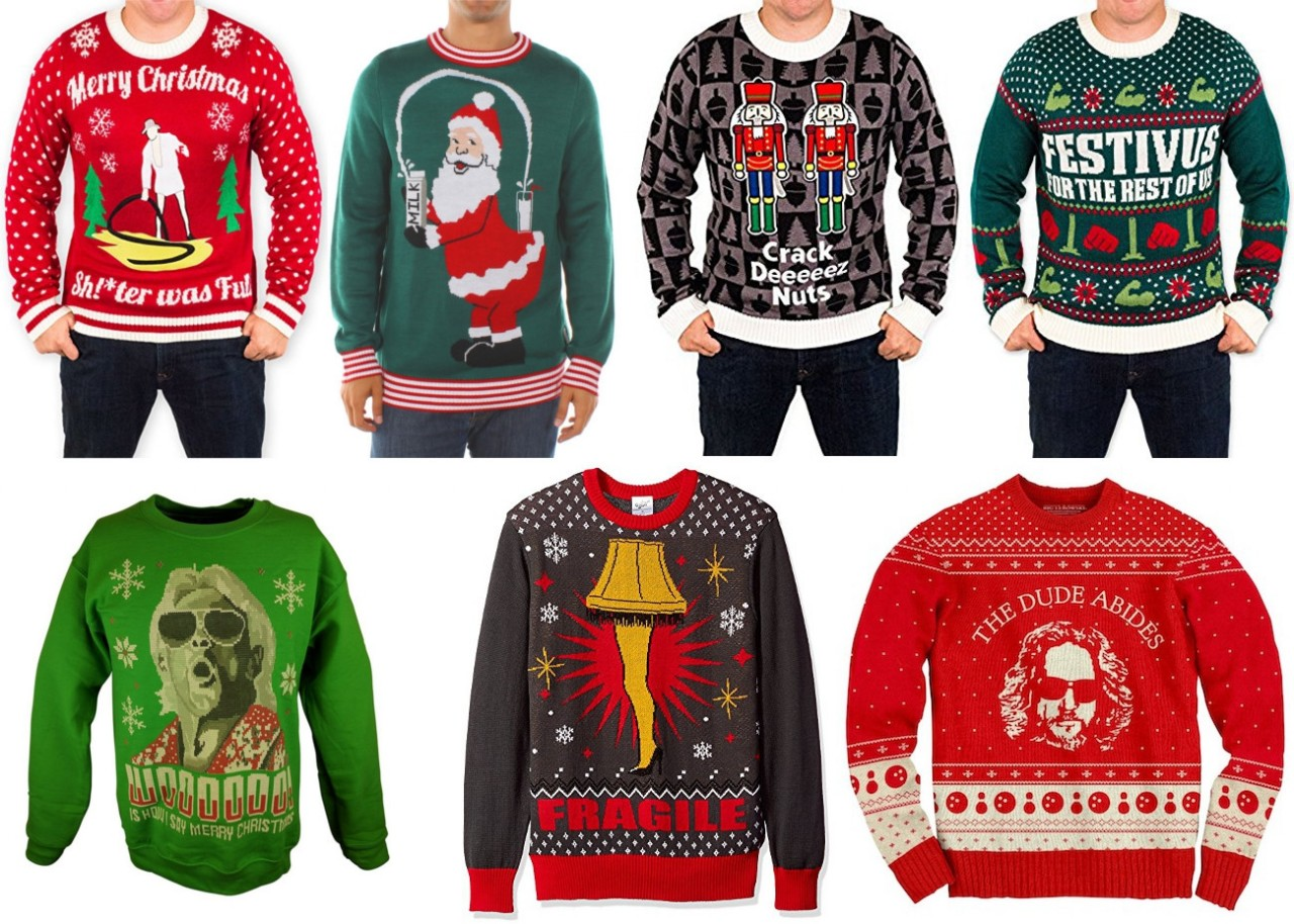 15 Best Ugly Christmas Sweaters For 2017… Classic Movies ...
