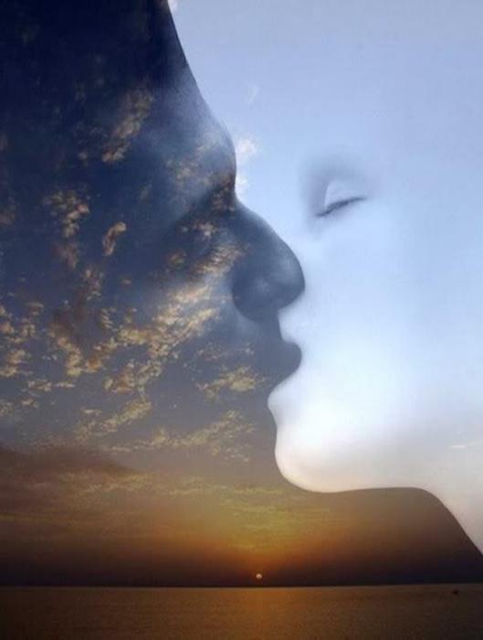 Поцелуй. Автор: Brita Seifert.