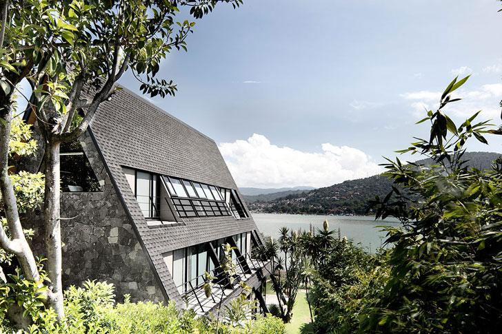 10 прекрасных домов у озера,…