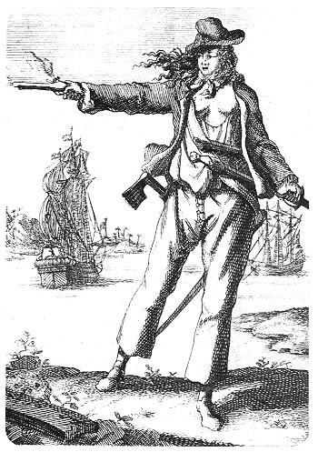 Черные паруса «повелительницы морей» Энн Бонни: приключения знаменитой пиратки