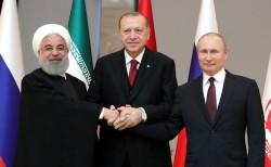 Президенты России, Турции и Ирана подписали заявление по Сирии