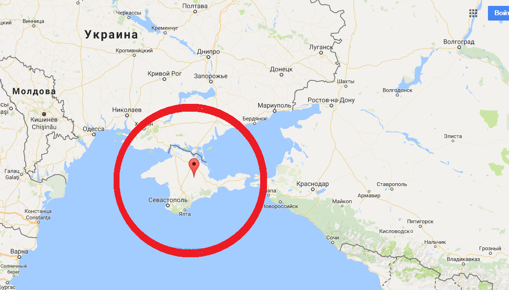 МИД Украины просит сограждан писать доносы о «неправильном» обозначении Крыма на картах
