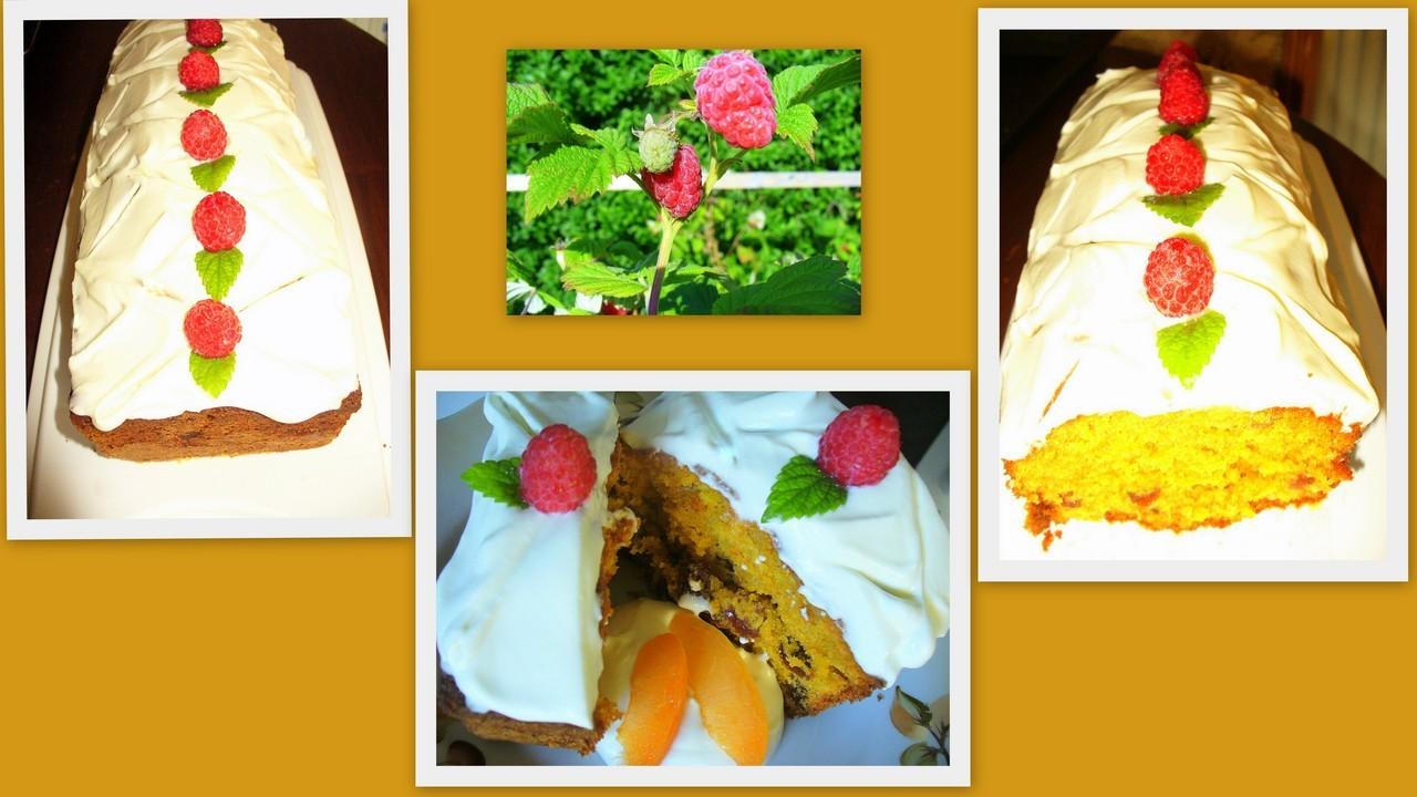 Морковный кекс с изюмом.Фото -Рецепт Olga Dell