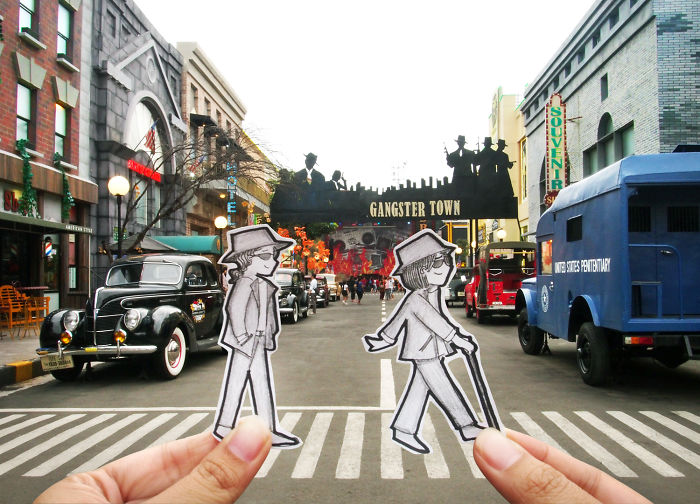 Instead Of Selfies, We Document Our Journey In A More Interesting Way: Doodles